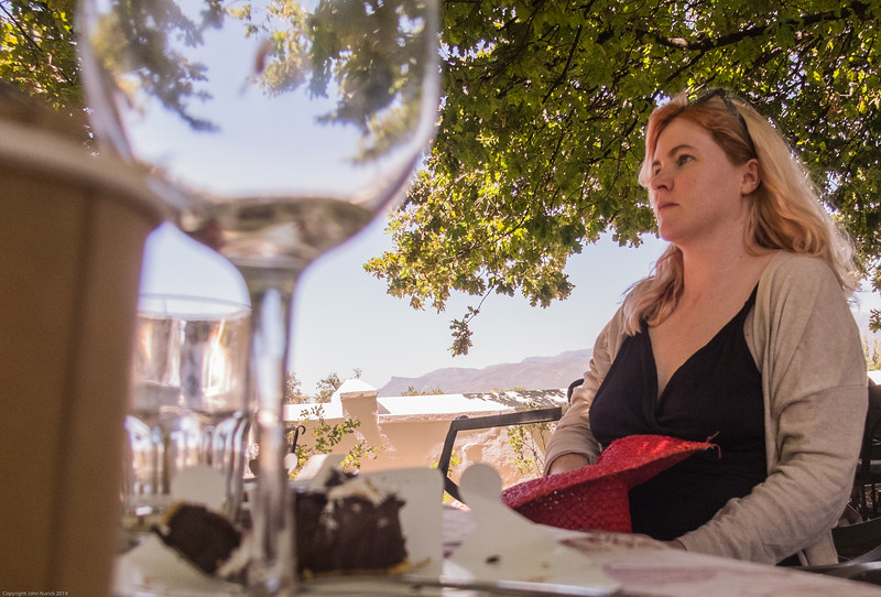 New Year's Day at Boschendal: Megan