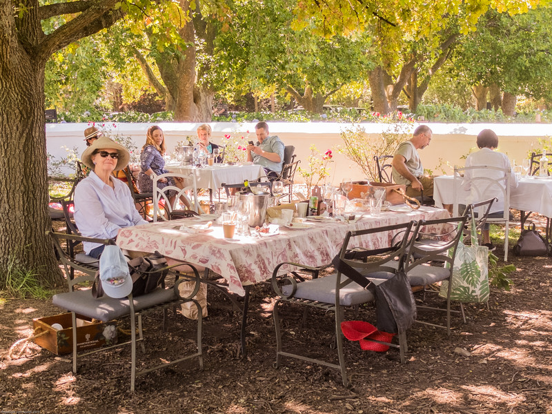New Year's Day at Boschendal: Kirsty
