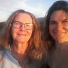 Kirsty and Kim at Matjiesfontein