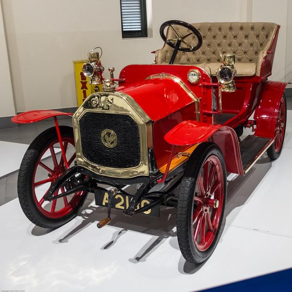 Le Zèbre Type A (1909) at Franschoek Motor Museum