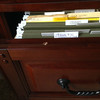 Office file cabinet - dented