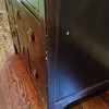 Damaged, dented and sctratched Chinese CD cabinet