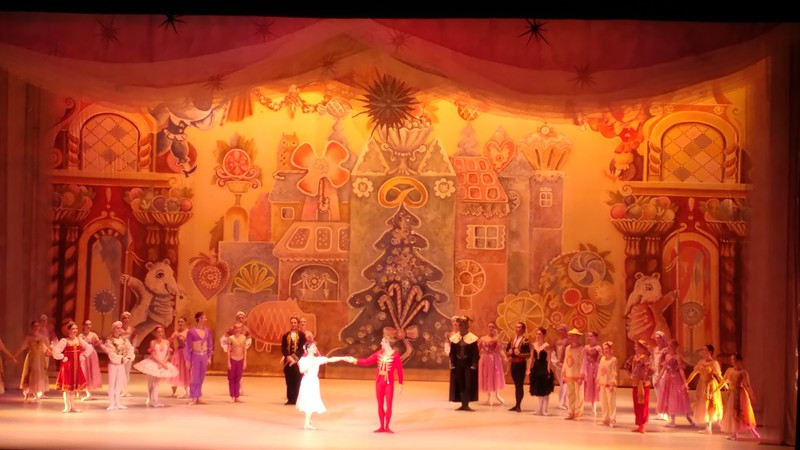 Nutcracker ballet at the Hammer Theater Center in San Jose.