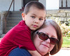 Donovan and Grandma Sherry