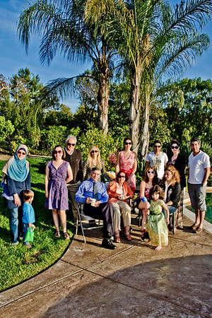 With Sogol and Family, Fallbrook, Apr'12