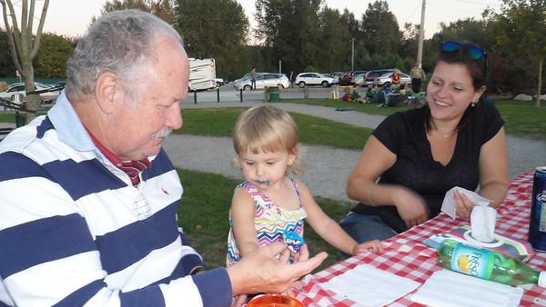 Sabrina & Marcel Visit - Sep 2015