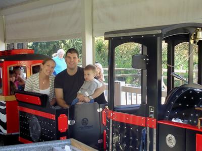 Ari, Mark, & Joey at the zoo