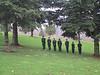 Honor Guard <br /> 21 gun salute to Col H G Waite