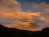 Last light on Mt Dana