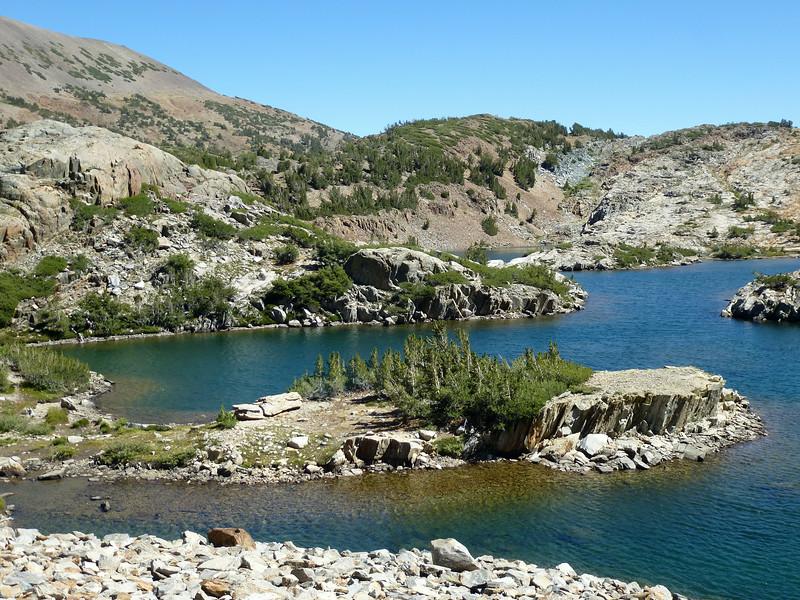 North end of Shamrock Lake