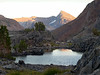 Evening view of Mt Dana