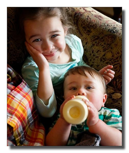 """Sadie & Her Baby Brother"""