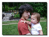"""Sean & Sadie""<br /> Sadie & her favorite big cousin, Sean."