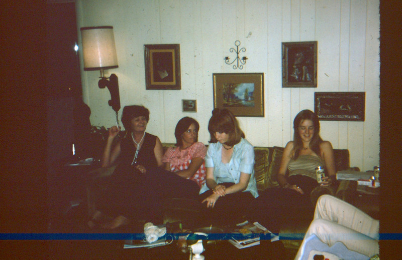 My Aunt Louis, and cousins Cindy B., Connie, and Amy.