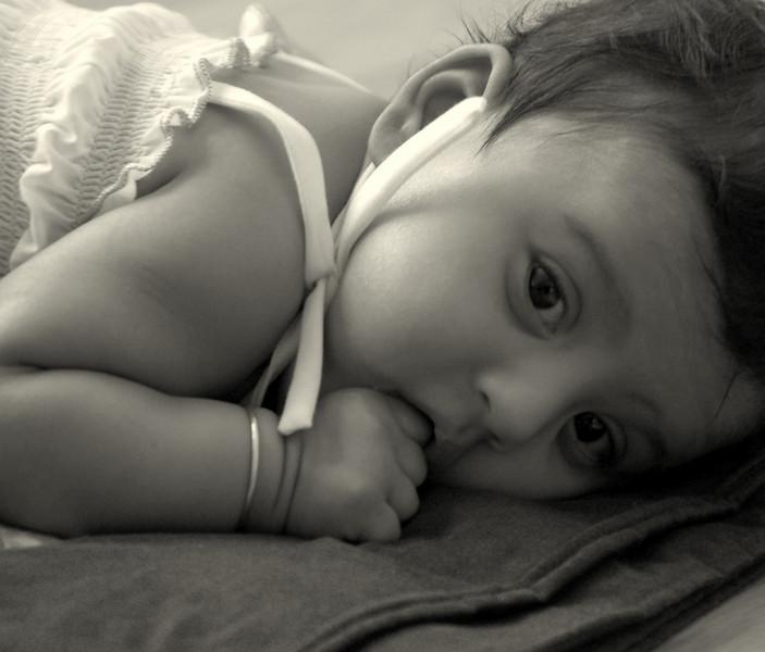 Sahana at 3 months