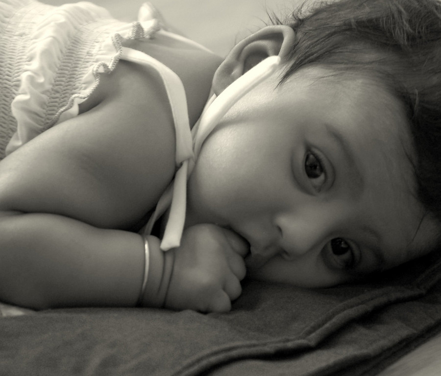 Sahana at 3 months