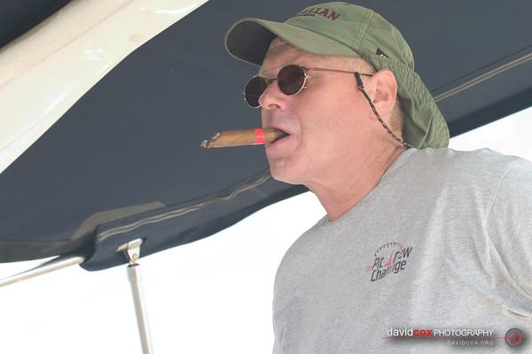 Sailing to Corpus (June 2005)
