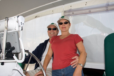 Ray and Charlotte finally get to sail their Koru after 3 years of working on her.