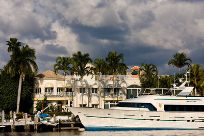 Beautiful homes and huge yachts were the norm.