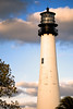 Cape Florida Lighthouse. Built in 1825. This makes it one of the oldest structures in Florida.