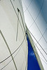 The mainsail is the older of the these sails.