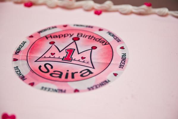 Saira Rampurawala 1st B-Day