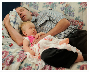 Napping with Daddy