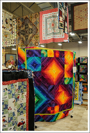 More colorful quilts