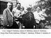 1938 Fanwood, NJ: Edgar Porter Salisbury, James D. Salisbury, James E. Salisbury, Susan Maie Porter Salisbury, William T Salisbury, William T. Salisbury Jr.