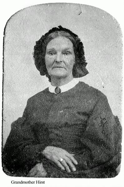 GGG Grandmother Hirst