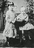 (left to right) Flora Maie Salisbury and Edgar Porter Salisbury 1882