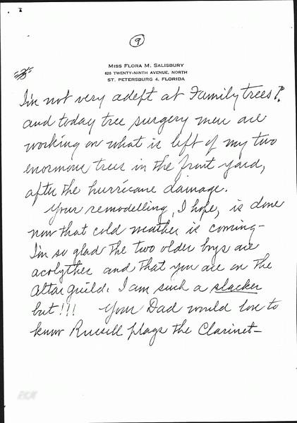 Porter Family letter to ESM 4