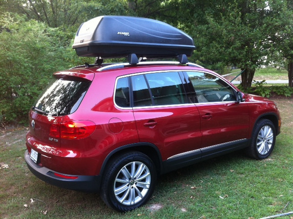 Tiguan loaded...off to beach week 2012!