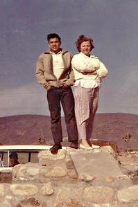 Sam and Granny in Joshua Tree circa 1960.