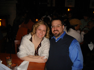 Happy Valentine's Day!  A Valentine's dinner for Kate and Sam at their romantic restaurant - Weber Grill.