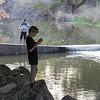 Fishing for bass Los Gatos Creek Trail