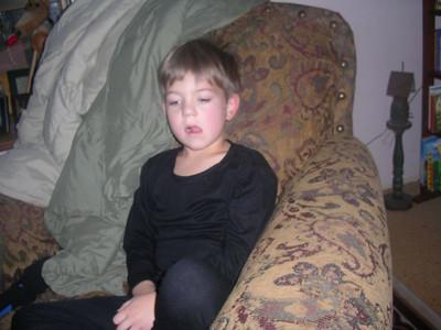 Sleepy head Miles!