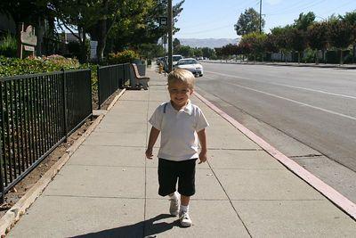 Sam at Clement School