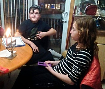 first day of hannukah 2 years later