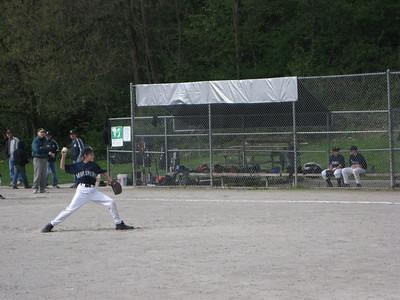 Sam pitching. Triple changeup!