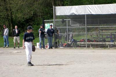 Sam pitching.