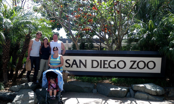 Family Visit to San Diego Zoo with Jonathan Montes April 30, 2011