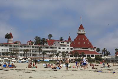 The Hotel Coronado.