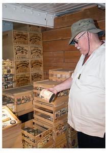 Stored Goods below deck of the Balclutha