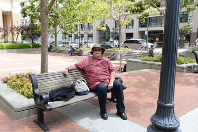 Hanging out in San Francisco