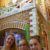 And then the life size gingerbread house