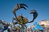 Pier 39 crab sculpture