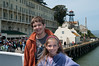 Sara and Kevin with Alcatraz in the background
