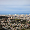 San Francisco Skyine from Twin Peaks