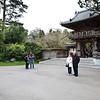 Miri, Jacov and Maureen at the Japanese Tea Garden in Golden Gate Park